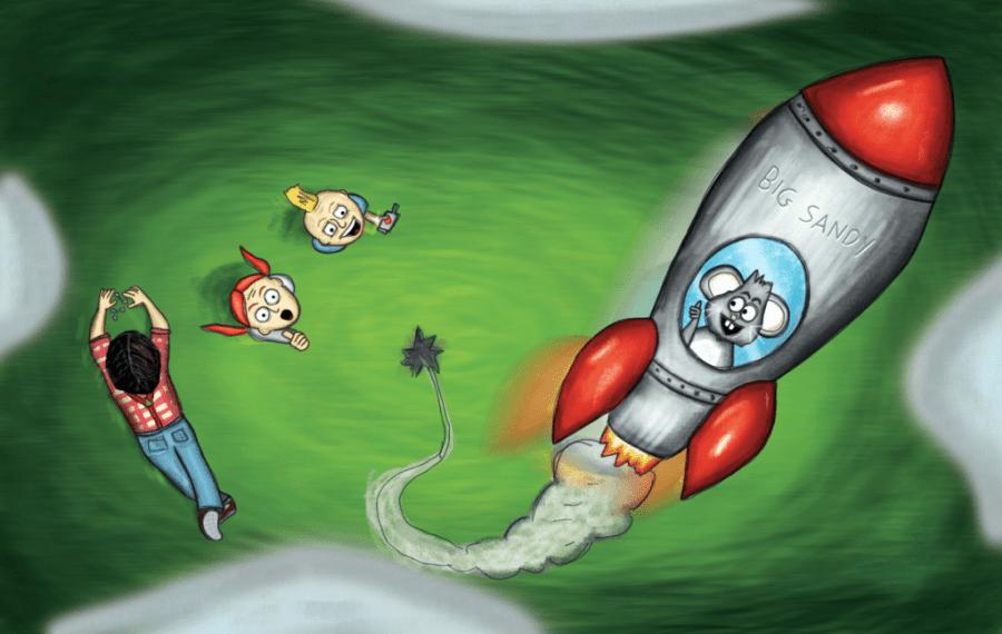 Tommy P. Tinker Rocket