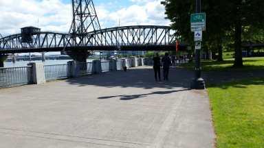 View of Hawthorne Bridge