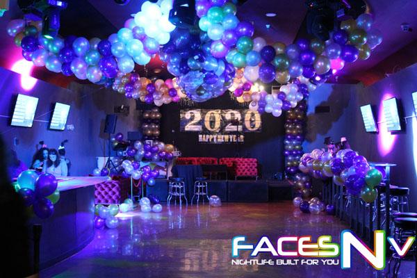 FacesNV Reno Nevada New Years Eve 2020