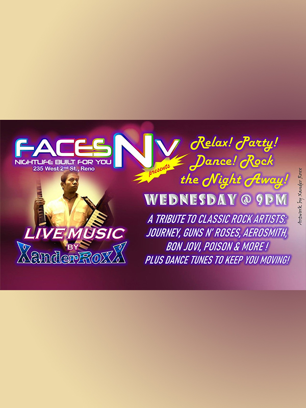 FacesNV - Xander Roxx Wednesdays