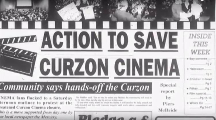 Action to save the cinema in the 90s