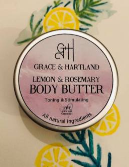 Lemon and Rosemary Body Butter