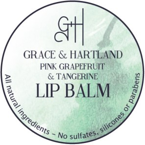 Pink Grapefuit and Tangerine Lip Balm