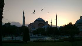 Cristian's excellent shot of the Aya Sofia