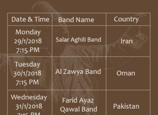 Oman's First Sufi Music Festival