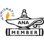 numismatic ANA member logo