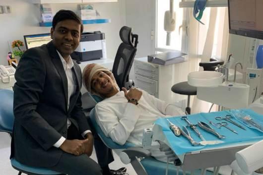 facial surgery at Richardson's Dental and Craniofacial hospital