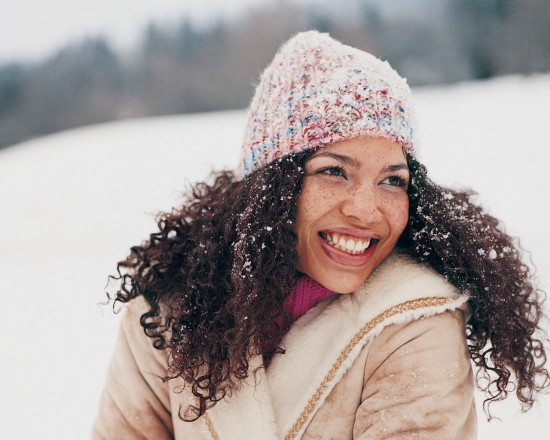 Winter Tips for Curly Frizzy Hair