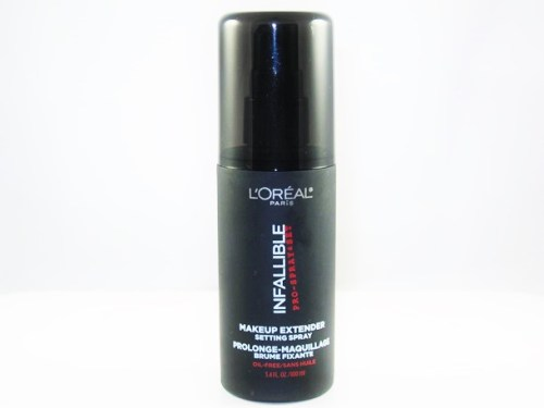 L'Oreal Infallible Makeup Extender Setting Spray Review