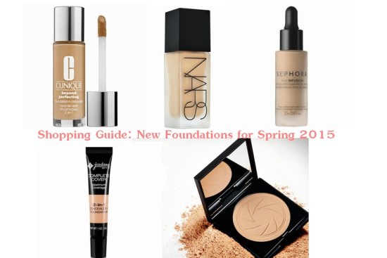 Shopping Guide: New Foundations for Spring 2015