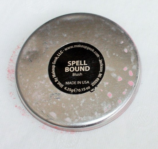 Makeup Geek Spell Bound Blush Review 004