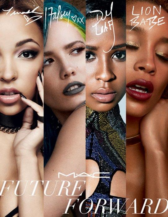 Tinashe Named Face Of MAC Cosmetics Future Forward Campaign-ALONGSIDE DEJ LOAF, HALSEY AND LION BABE-3