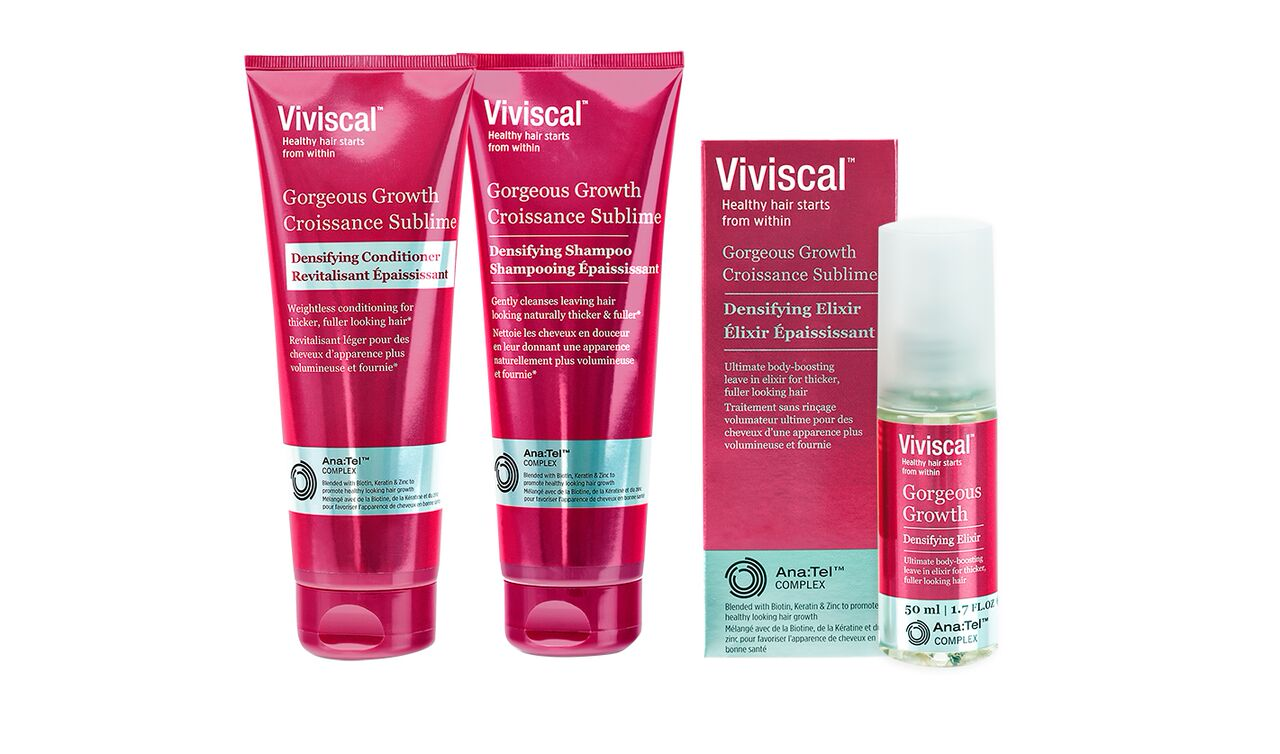 VIVISCAL GORGEOUS GROWTH DENSIFYING RANGE