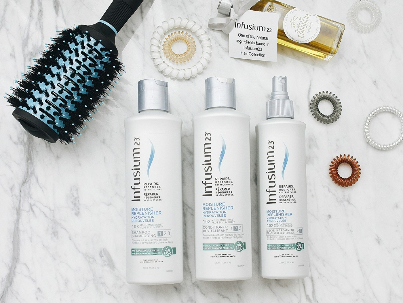 SUMMER HAIR WITH INFUSIUM23 MOISTURE REPLENISHER LINE