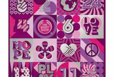THE BODY SHOP ADVENT CALENDAR + GIVEAWAY
