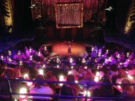Inside Cabaret which was too fantastic for words.