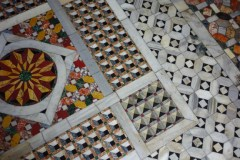 the wonderfully uneven floor of the Basilica