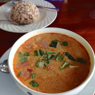 Red curry on the road to White Buddha