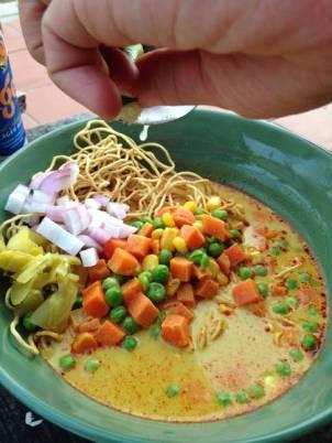 Khao Soi - not as good as in Chiang Mai