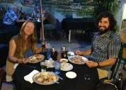 Alex and Thom from the Farm at La Indita Mexican restaurant.
