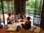 an afternoon pool party at Pernilla's in Pai