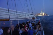 Sailing on the Adirondack in New York Harbor