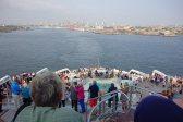 Leaving New York Harbor