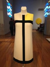 Yves St. Laurent dress from 1965 at Rijksmuseum.