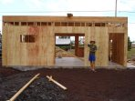 No particle board was used in the making of this house.