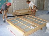 Pre-hung doors...thank god for that!