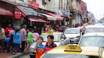 Goodbye to traffic choked streets.
