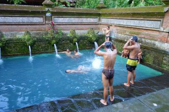public bath, Ubud