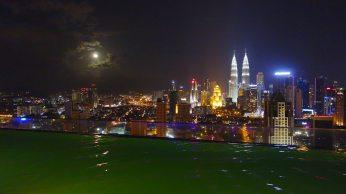 Goodnight Malaysia moon.