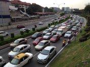 Goodbye Jalan Kuching parking lot. Won't miss you or your bad breath.