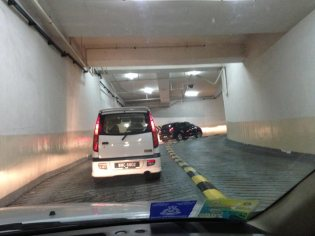 Goodbye to the ubiquitous parking garage vortices where I spend 20% of my life in Malaysia.