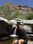 at Sabino Canyon
