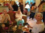 Rob & Alex' annual prickly pear margarita party