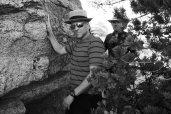 with Alex on Mt. Lemmon