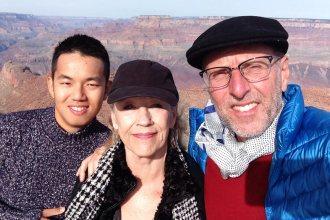 Chuan, Trish and me