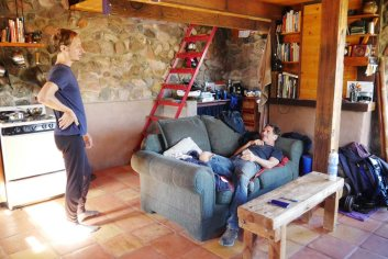 Chris and Erik in their place in Cascabel