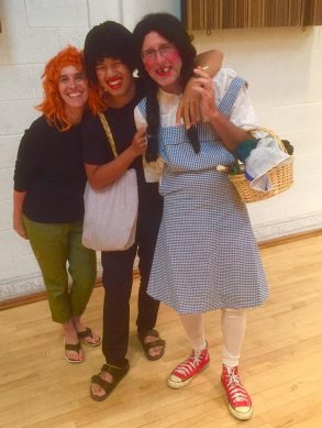 White Trash Dorothy and company at the Tucson Symphony rehearsal