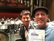 staging Brahms Requiem