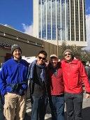 Jeff, Chuan, Rob, Alex at march