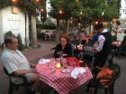 Jeff and Angela at Caruso's in Tucson - really mediocre food but extraordinary atmosphere.