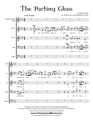 The Ugly Christmas Sweater Song [SATB Sheet Music] – Face Vocal Band