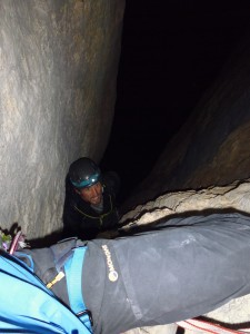 Pitch 8 or 9 by headtorch.