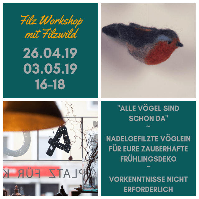 Filz Workshop 26.04.2019