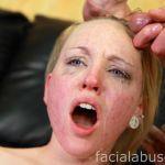 Facial Abuse Caroline Cross