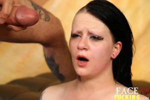 Face Fucking Mallory Maneater