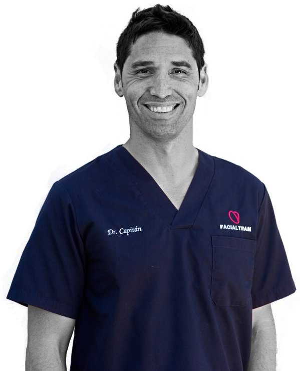 Dr. Capitán, founder of FACIALTEAM